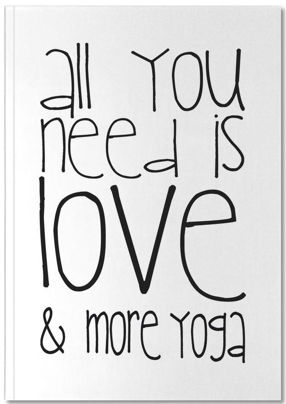 Love and Yoga Notebook