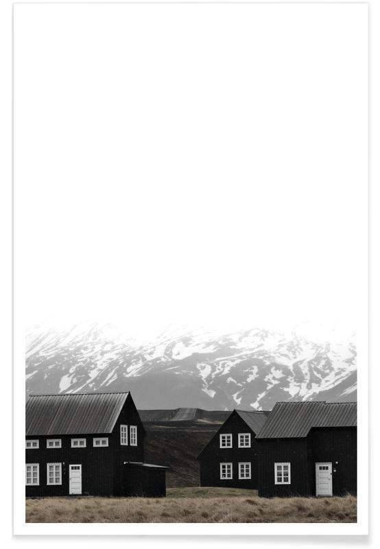 Black House of Iceland Poster