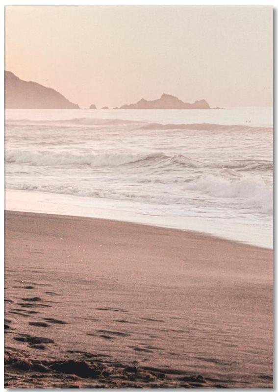 Ozeane, Meere & Seen, Strände, Sonnenuntergänge, California Sunset Part 1 -Notizblock