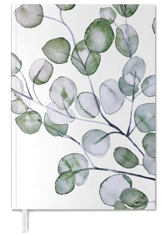 Eucalyptus Watercolor Personal Planner