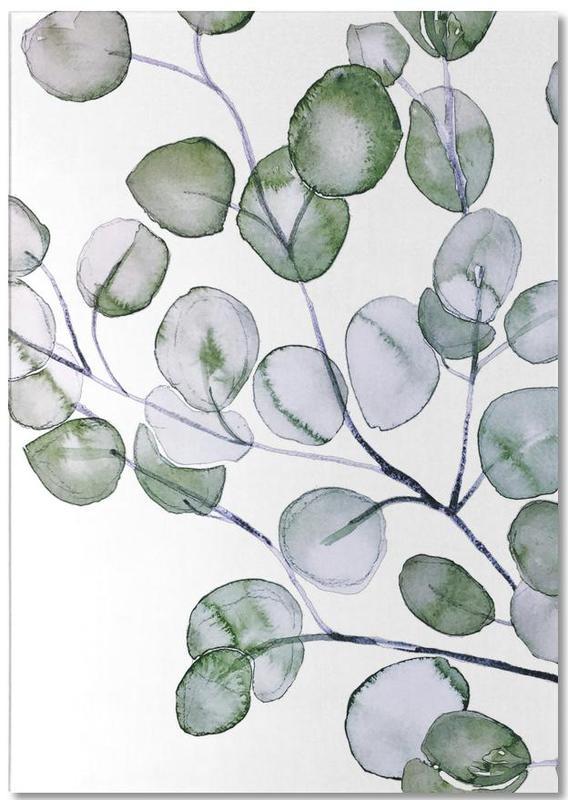 Eucalyptus Watercolor -Notizblock