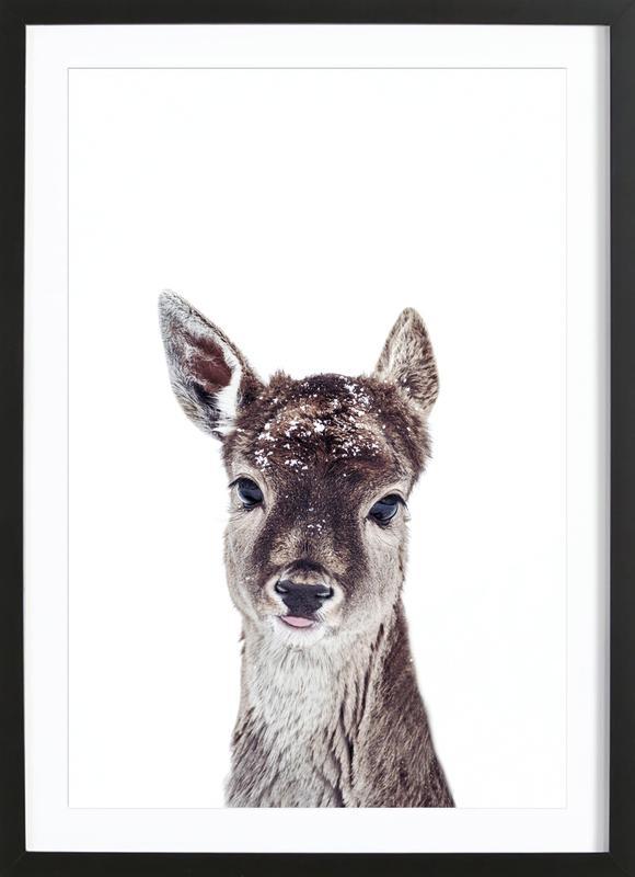 Little Fawn Fiona Framed Print