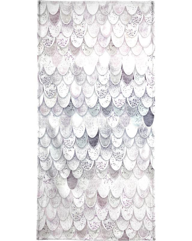 Magic Mermaid White Bath Towel