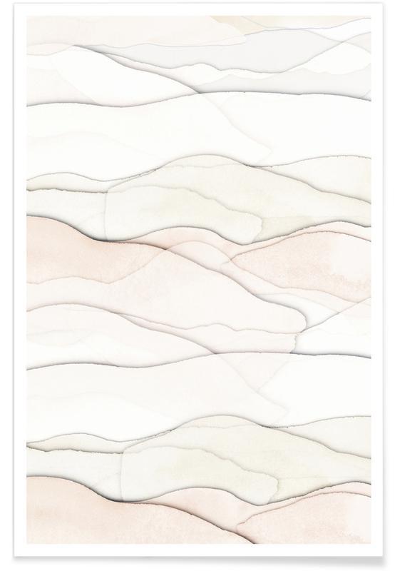 Abstract Landscapes, Paper Landscape 2 Poster