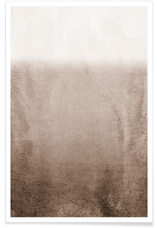 , Fading Brown Poster