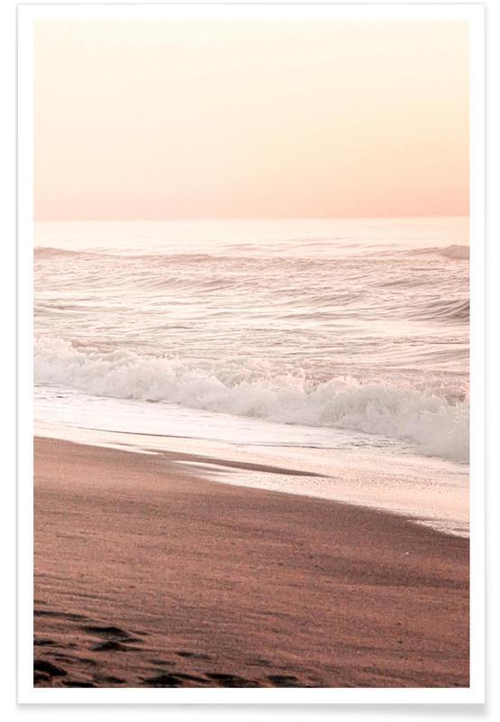 Beaches, California Sunset Part 2 Poster