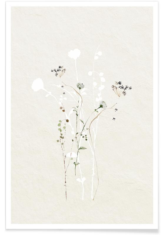Japanisch inspiriert, Japanese Ikebana 2 -Poster