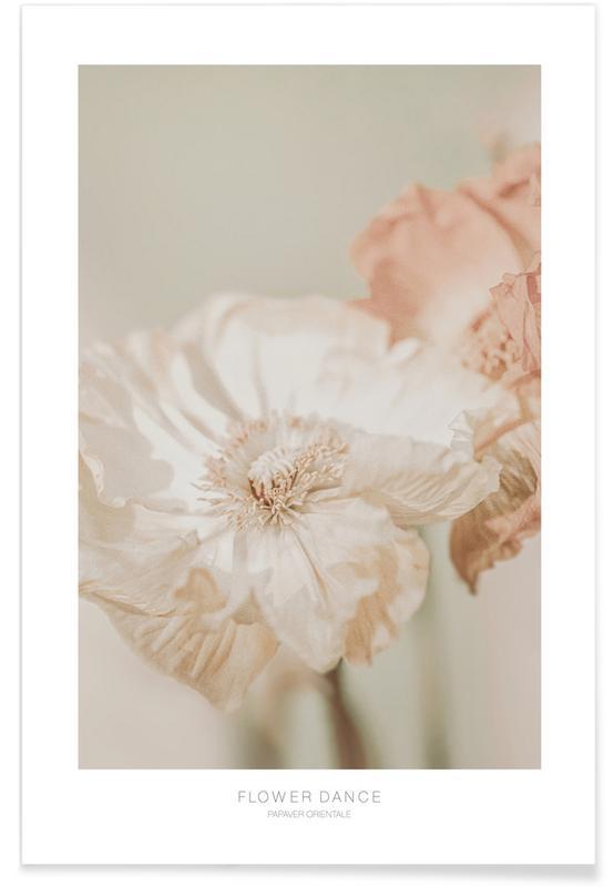 , Flower Dance Papaver Orientale affiche