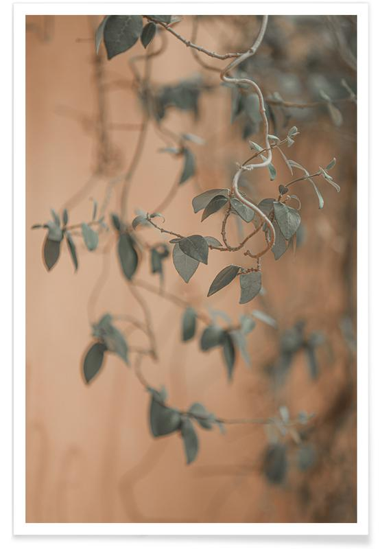 Feuilles & Plantes, Moody Leaves affiche