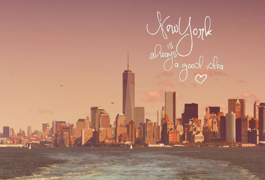 New York Is Always a Good Idea Acrylic Print