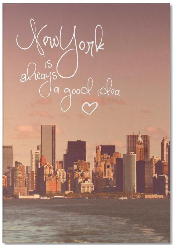 New York, New York Is Always a Good Idea bloc-notes