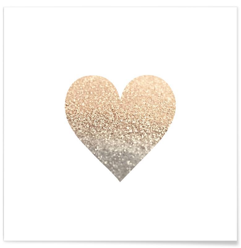 Gold Heart -Poster