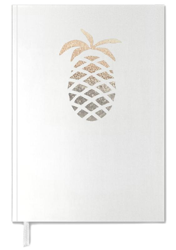 Pineapples, Gold Pineapple Personal Planner