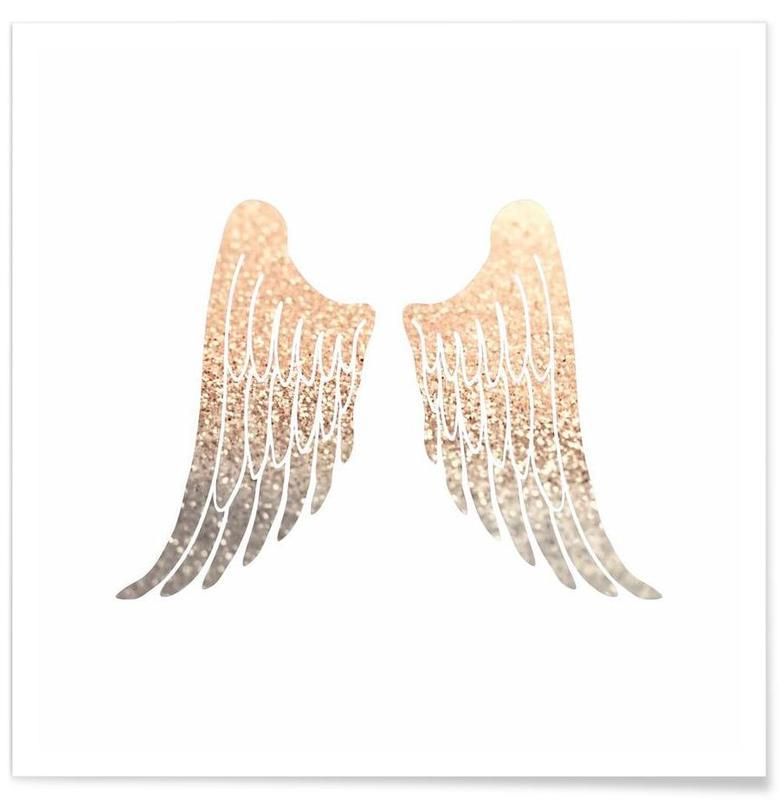 Gold Wings Poster
