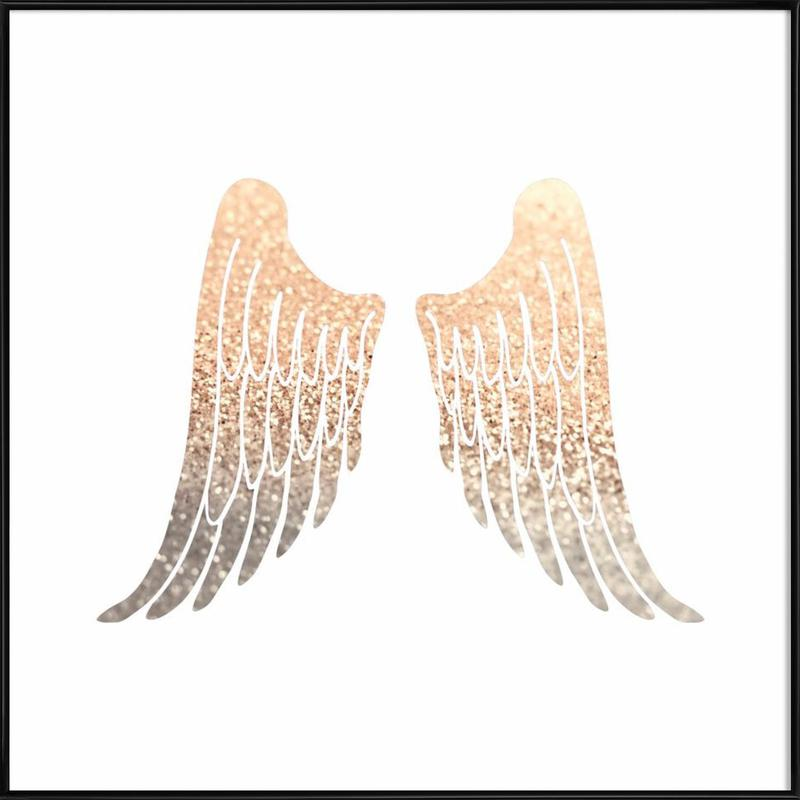 Gold Wings Framed Poster