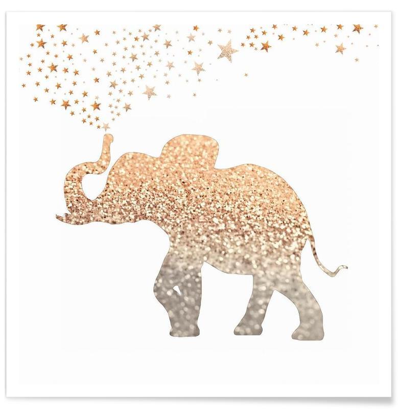 Éléphants, Gold Elephant affiche