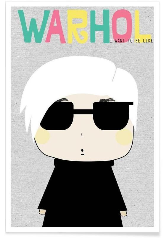 Andy Warhol, Little Warhol affiche