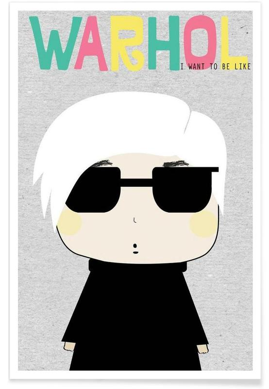 Little Warhol -Poster