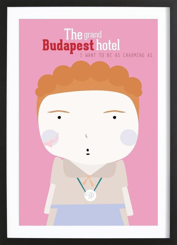 Little Budapest Hotel Framed Print