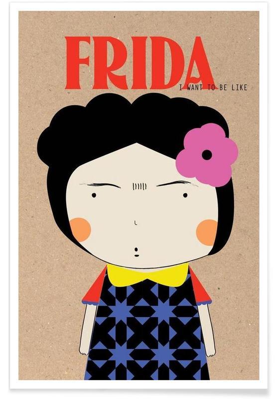Frida Kahlo, Little Frida affiche