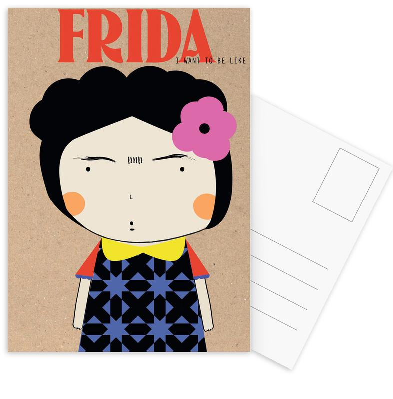 Little Frida -Postkartenset