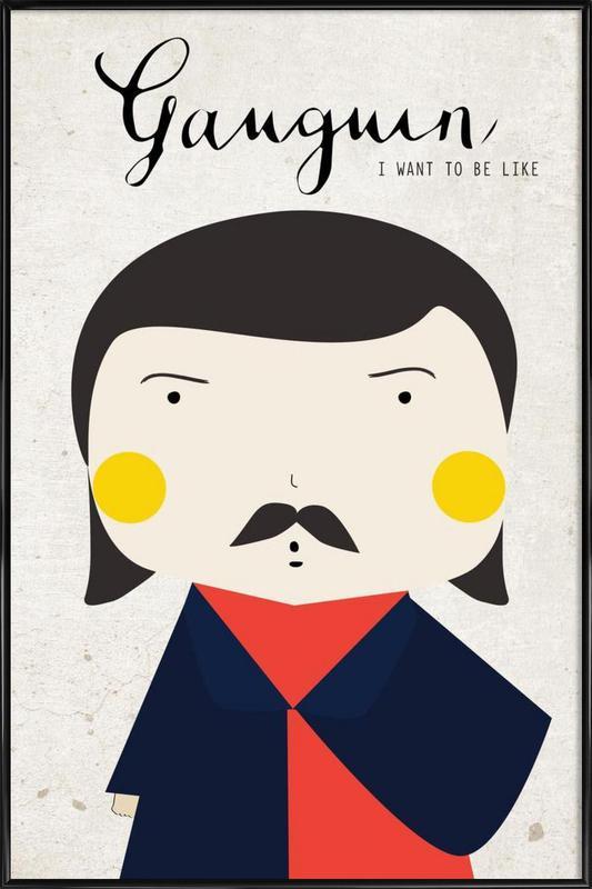 Little Gaughin Framed Poster