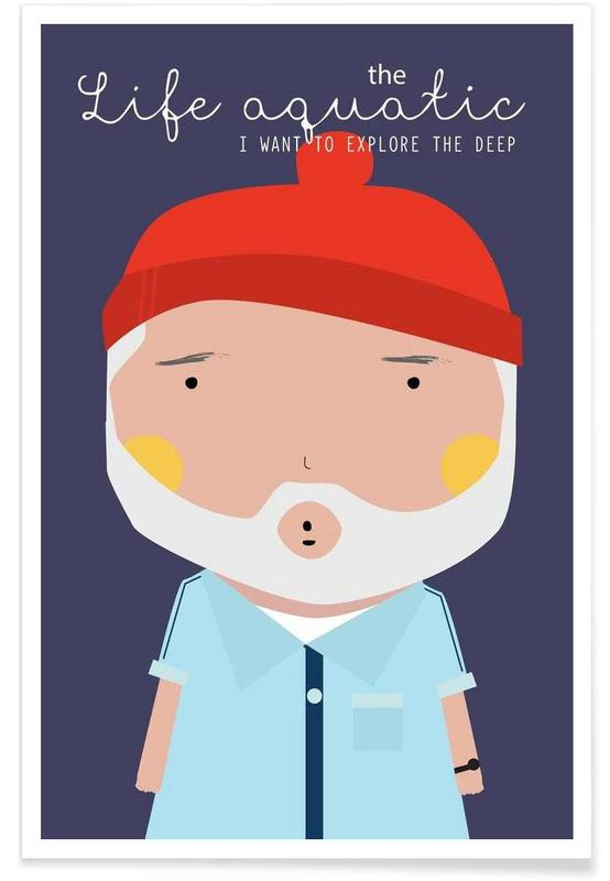 Little Life Aquatic -Poster