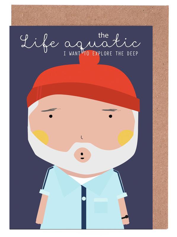Films, Little Life Aquatic cartes de vœux