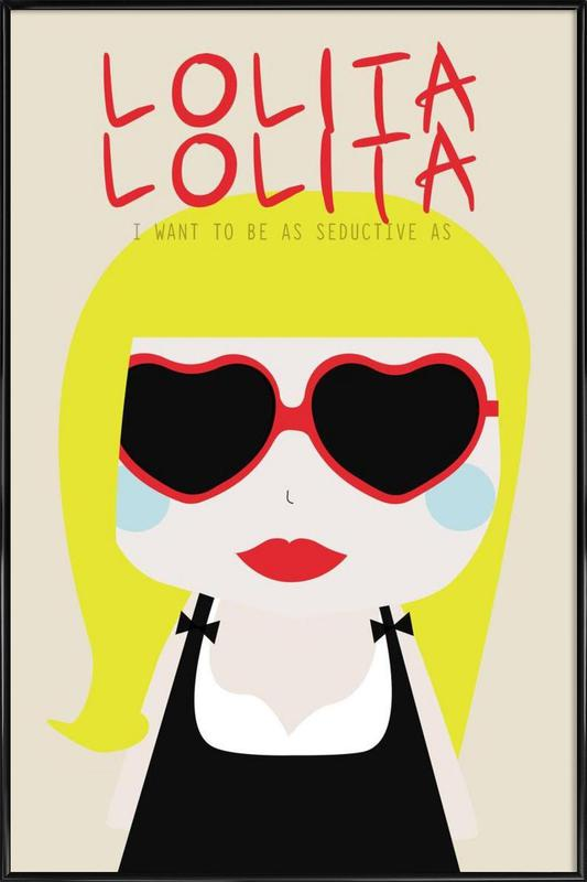 Little Lolita Framed Poster