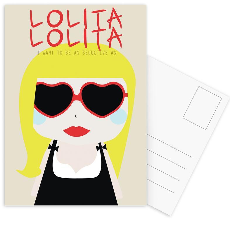 Little Lolita Postcard Set