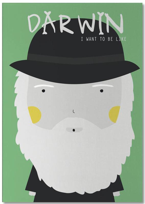 Little Darwin -Notizblock