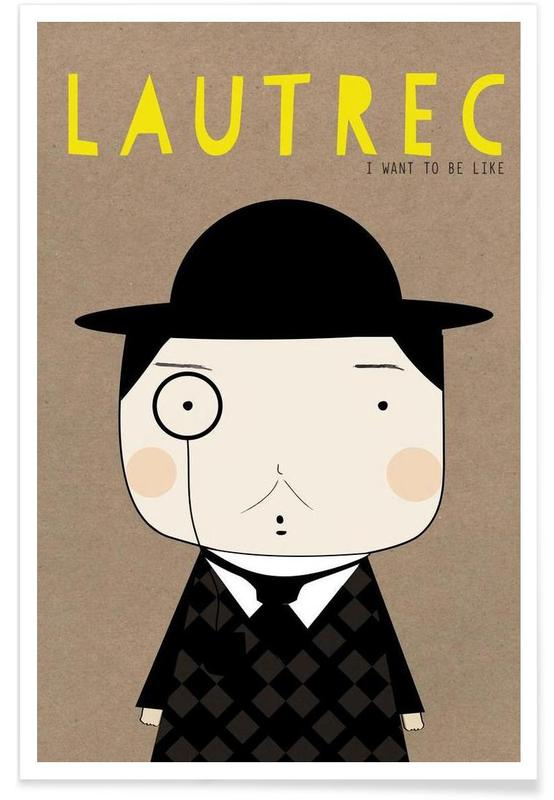 Little Lautrec -Poster