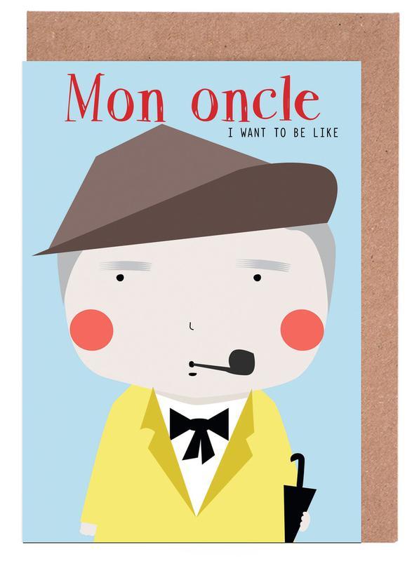 Films, Little Mon Oncle cartes de vœux
