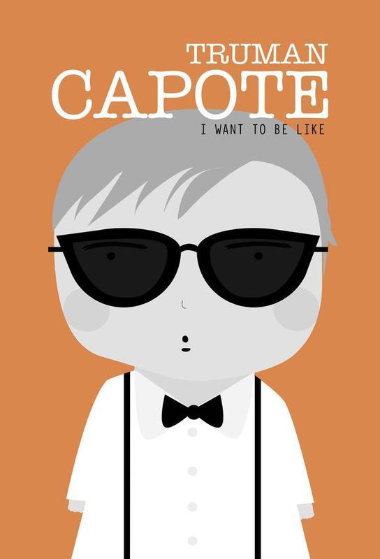 Little Capote Aluminium Print