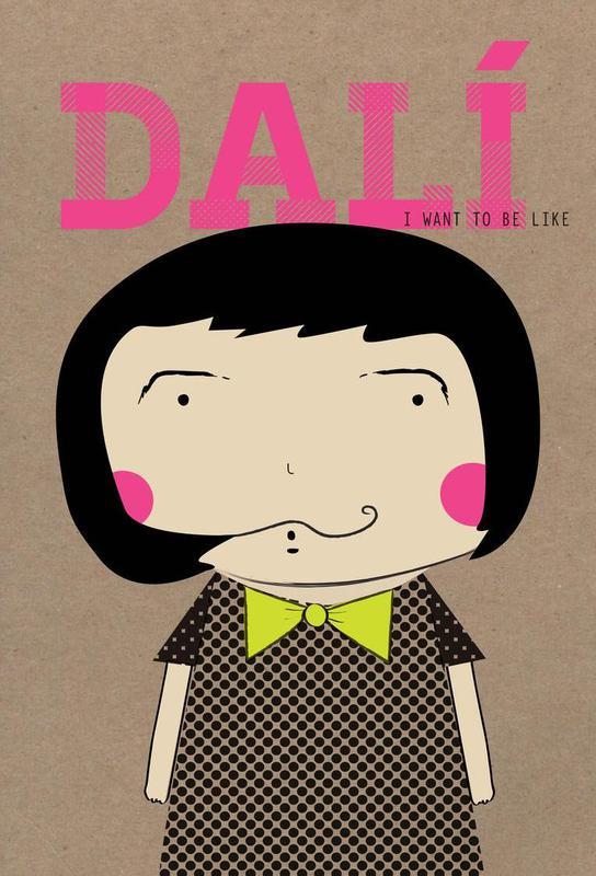 Little Dalí tableau en verre