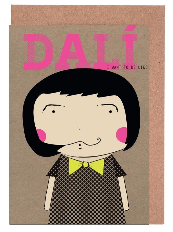 Salvador Dali, Little Dalí -Grußkarten-Set