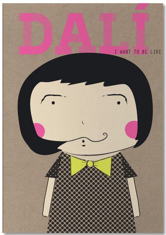 Little Dalí -Notizblock