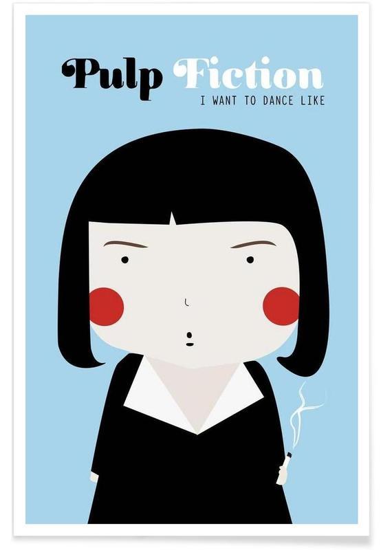 Little Pulp Fiction Poster
