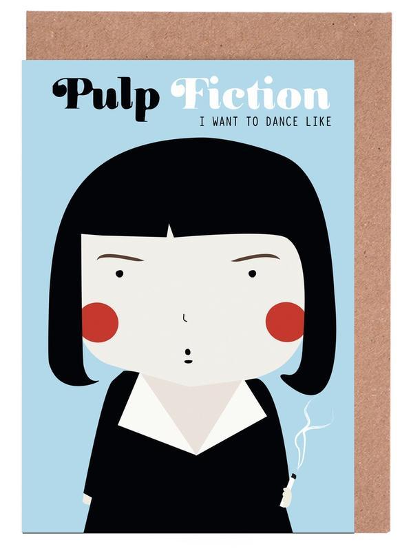 Films, Little Pulp Fiction cartes de vœux