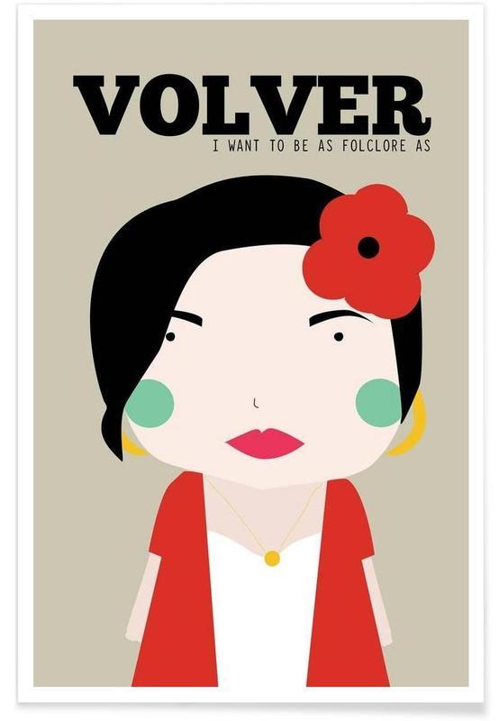 Little Volver affiche