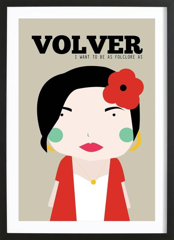 Little Volver Framed Print