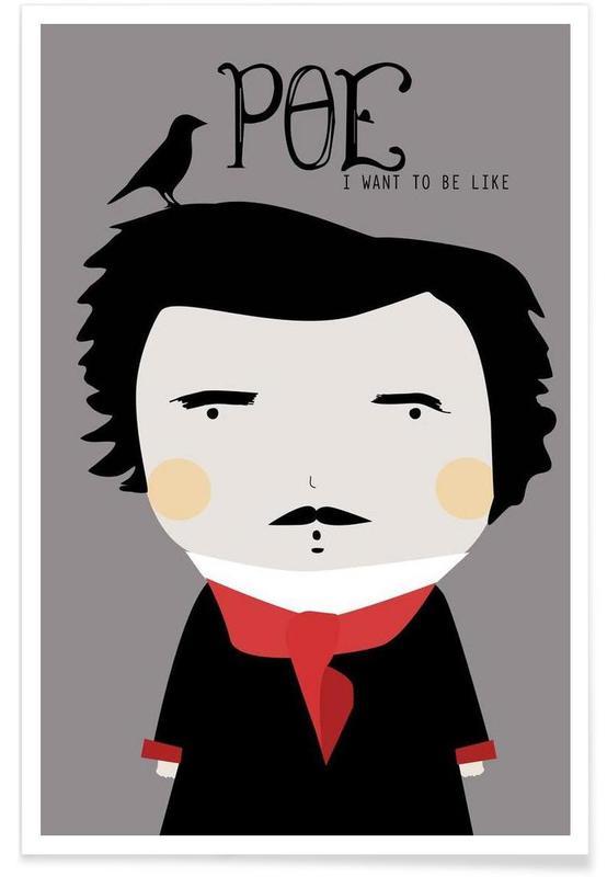 , Little Poe -Poster