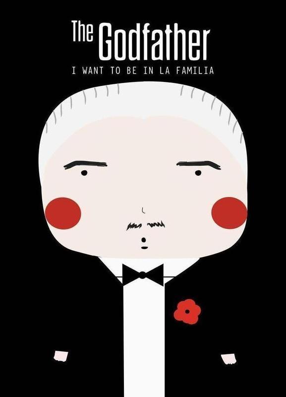 Little Godfather -Leinwandbild