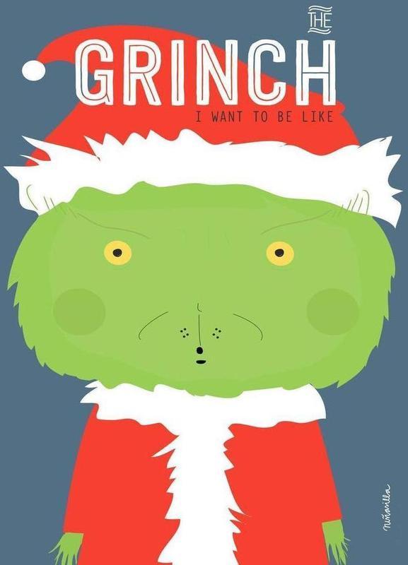 Little Grinch -Leinwandbild