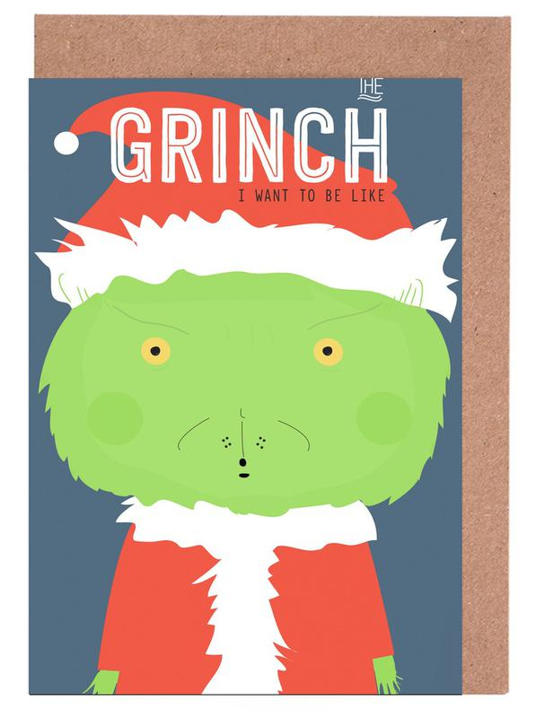 Little Grinch Greeting Card Set