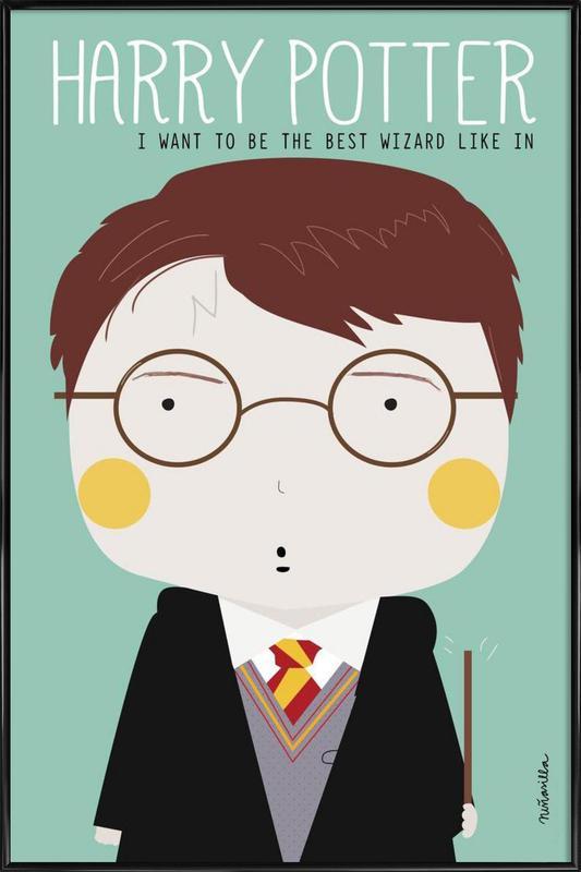 Little Harry -Bild mit Kunststoffrahmen
