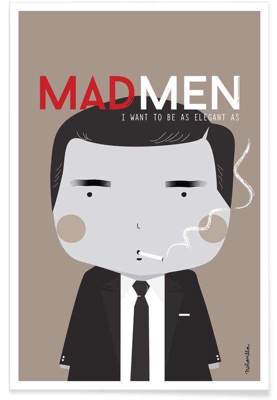TV Shows, Little Mad Men Poster