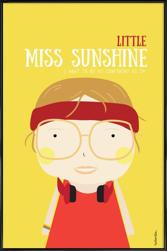 Little Sunshine -Bild mit Kunststoffrahmen