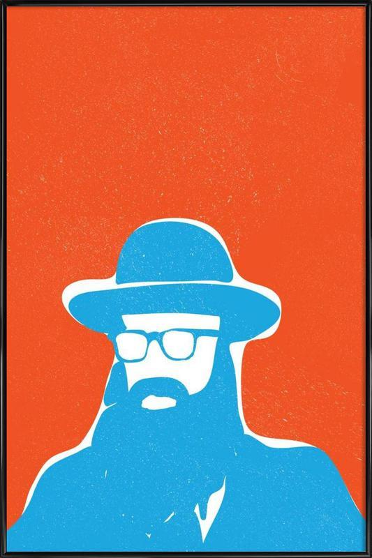 Woody Klezmer Framed Poster