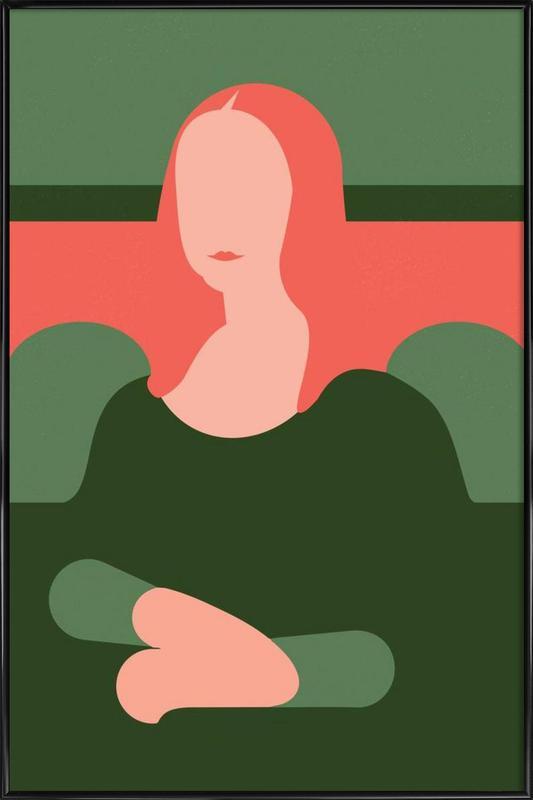 Monnalisa vs. Firenze Framed Poster